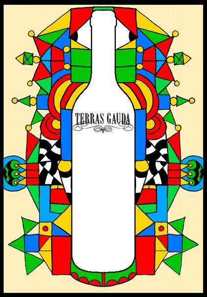 Terras Gauda wine bottle poster - Mihnea Cernat