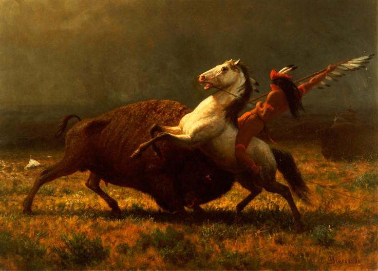 The Last of the Buffalo II - Albert Bierstadt