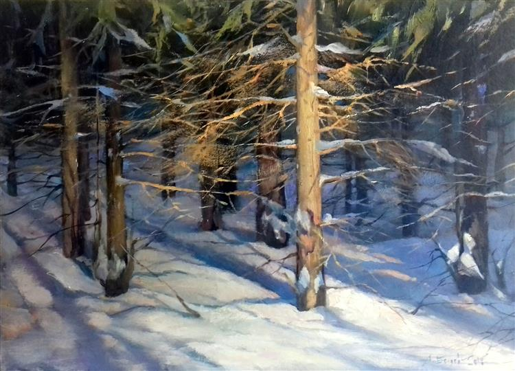 WINTER FOREST, 2016 - ALEXANDER BELYAEV