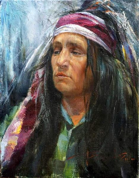Man Portrait, 2014 - Aleksander Belyaev