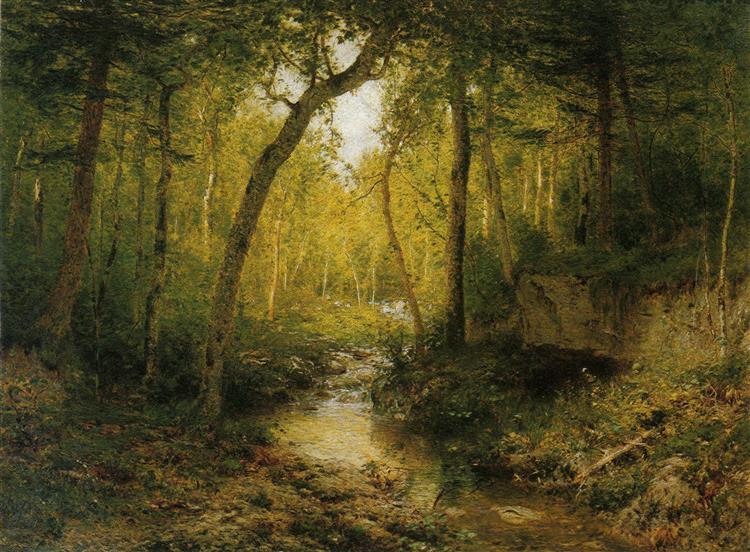 A Summer Haunt, 1881 - Alexander Helwig Wyant