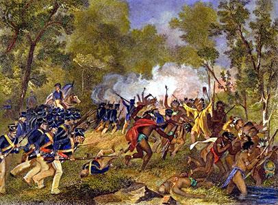 Battle of Tippecanoe - Alonzo Chappel