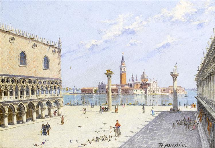 Palazzo Ducale, Venezia - Antonietta Brandeis