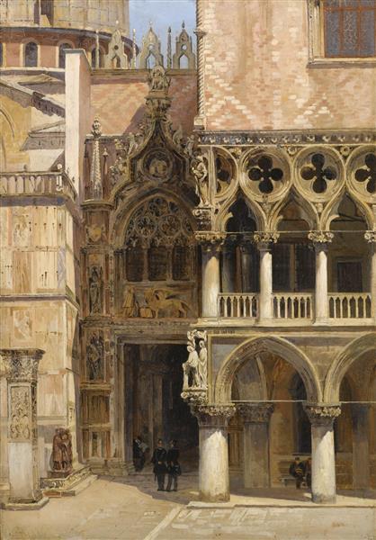 Porta Della Carta, 1886 - Antonietta Brandeis