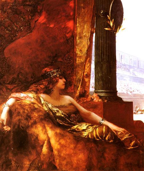 L'imperatrice Theodora Au Colisée - Jean-Joseph Benjamin-Constant