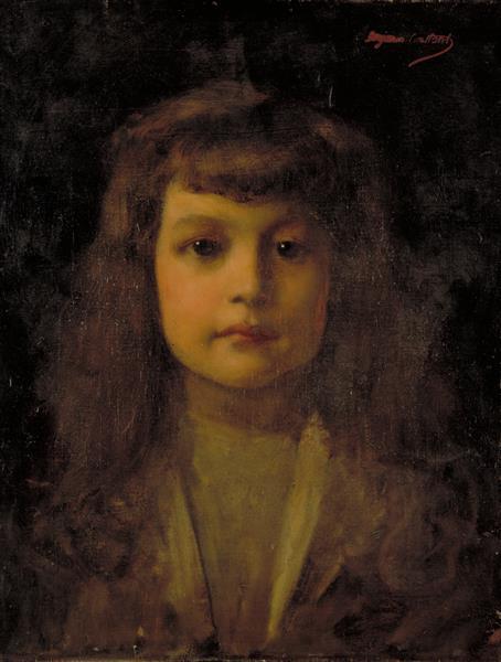 Portrait De Jean Montfraix À L'âge De Douze Ans - Benjamin Constant
