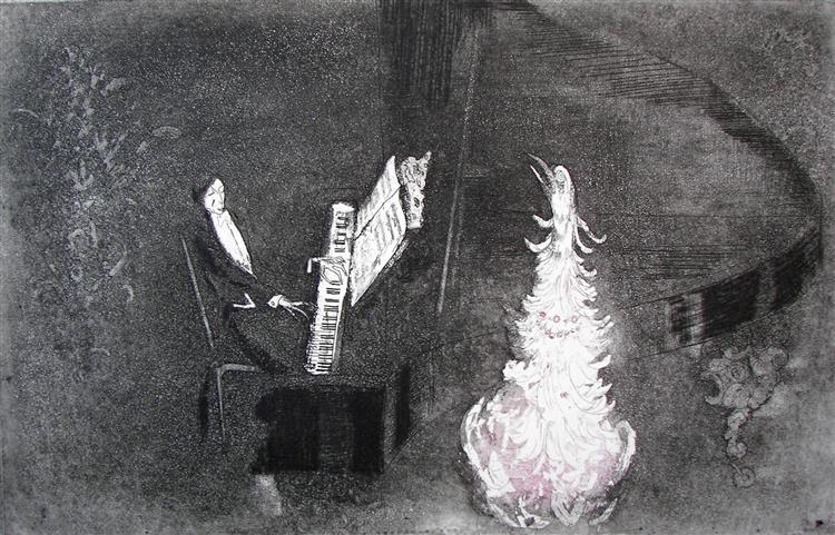 Aria, c.1981 - Rudolf LÁNG