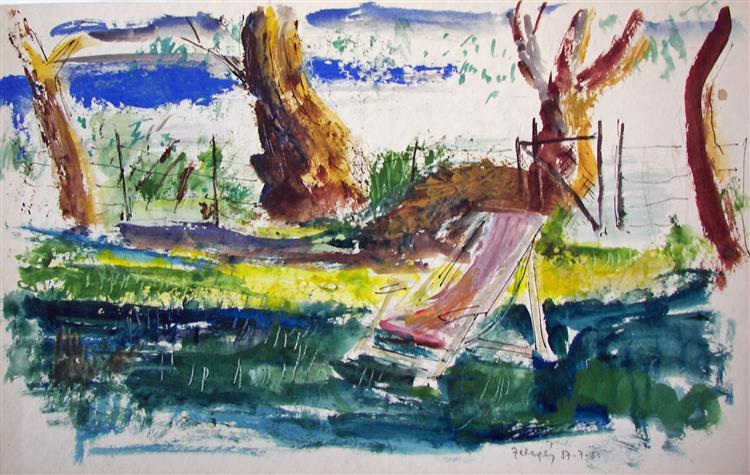 Summer Afternoon, 1957 - Rudolf Láng