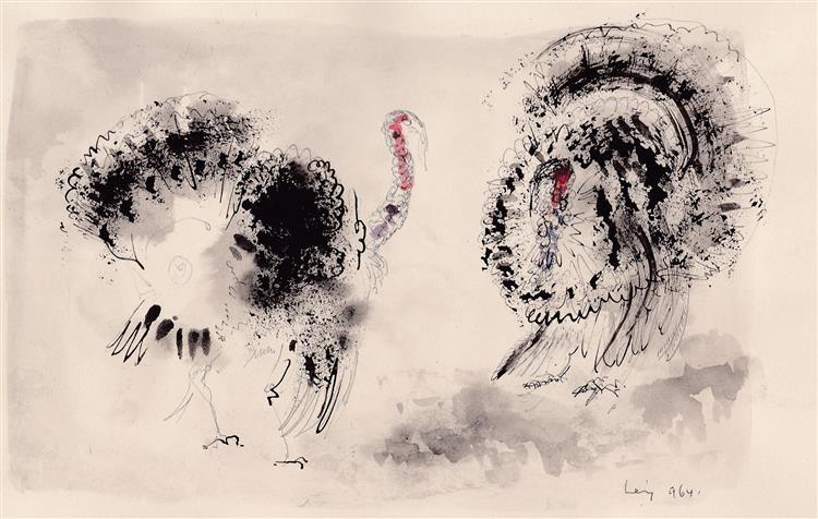 Turkeys, 1964 - Rudolf LÁNG