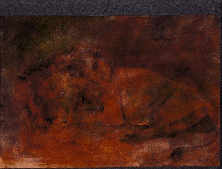 Lion, 1956 - Rudolf Láng