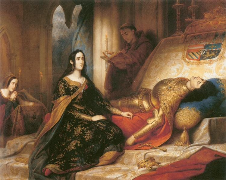 Jeanne La Folle - Carl von Steuben