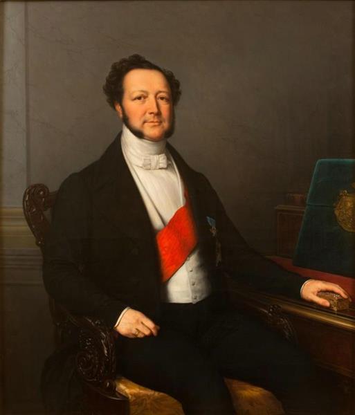 Ivan Vorontsov-Dashkov, 1845 - Charles de Steuben