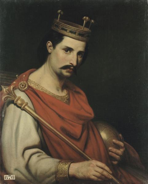 Charles the Bald, 1840 - Charles de Steuben