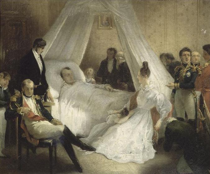 Der Tod Napoleons - Charles de Steuben