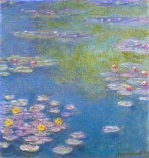 Water Lilies, c.1920 - Claude Monet