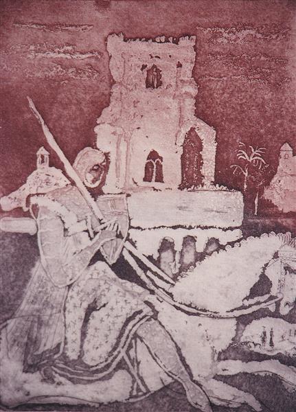 Knights Castle, c.1980 - Rudolf LÁNG