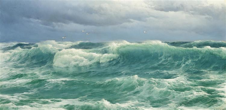 'When the Wind Blows the Sea In' - David James