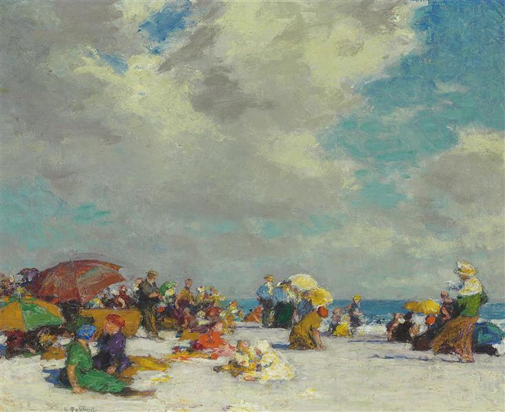 A Summer Afternoon, c.1910 - Edward Henry Potthast