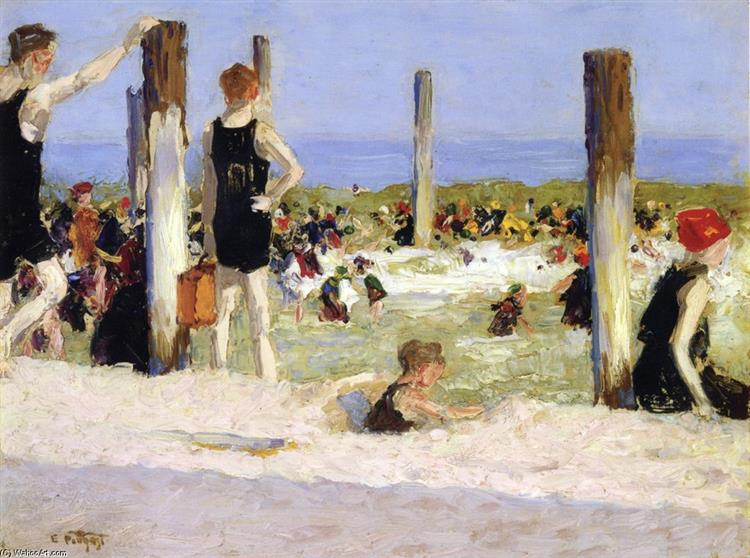 In Dog Days - Edward Henry Potthast