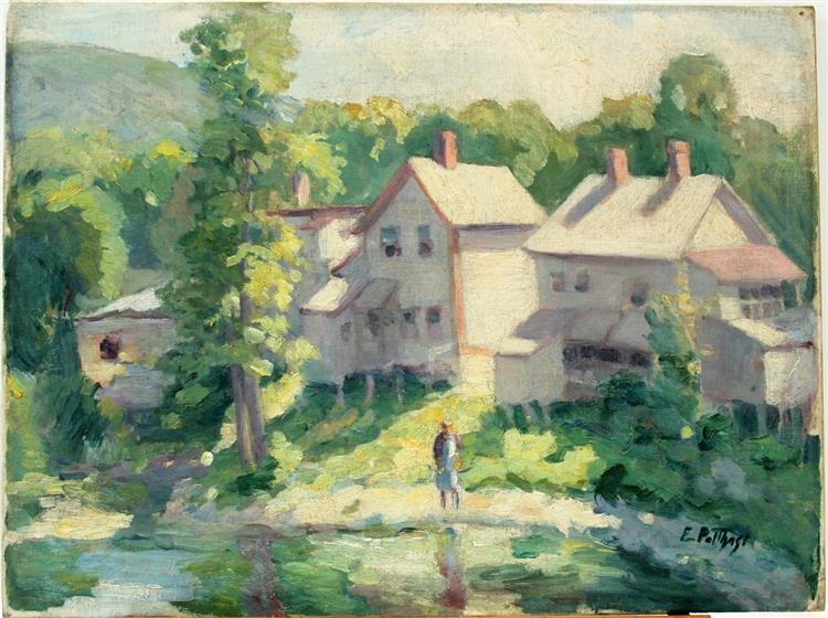 Wading, 1916 - Edward Henry Potthast