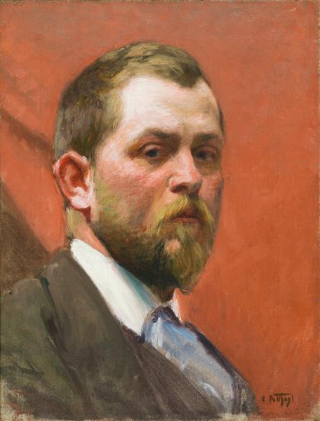 Self-portrait, c.1925 - Edward Henry Potthast
