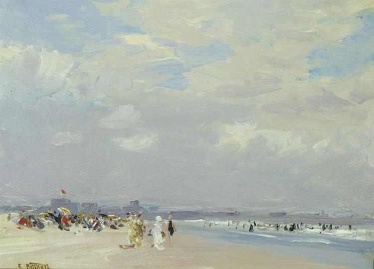 Rockaway Beach, c.1910 - Edward Henry Potthast