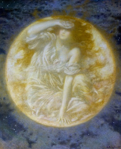 Radiant moon, 1900 - Edward Robert Hughes