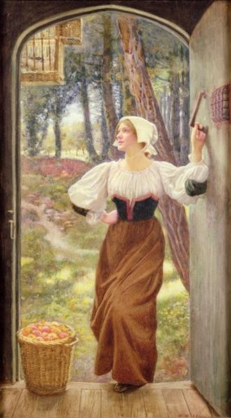 Tithe in Kind - Edward Robert Hughes