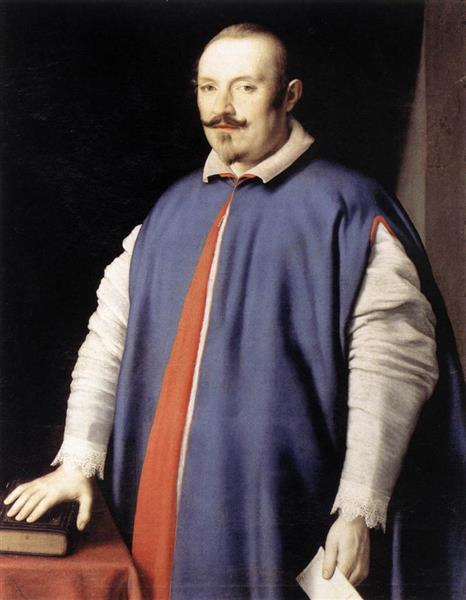 Portrait of Monsignor Ottaviano Prati - Джованні Батіста Сальві