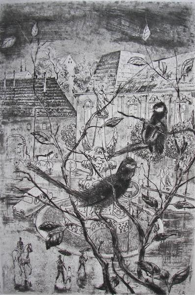 Fledglings, c.1974 - Rudolf Láng