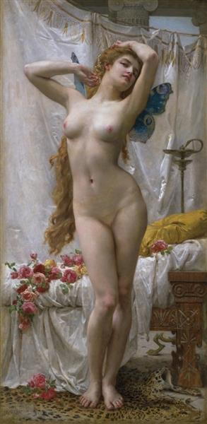 The Awakening of Psyche, 1904 - Guillaume Seignac