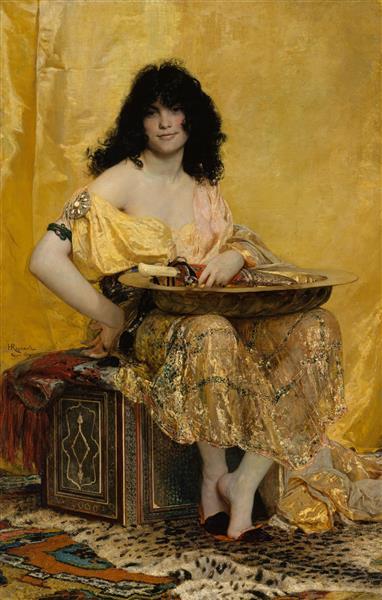Salomé, 1870 - Анрі Реньо