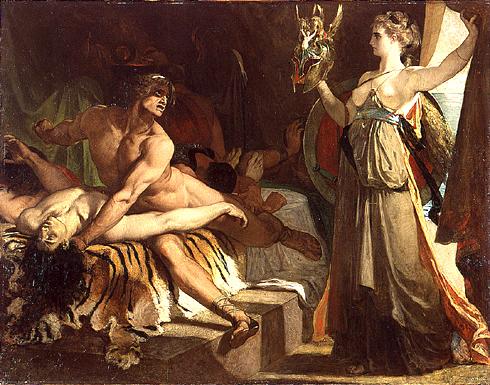 Thétis Apportant À Achille Les Armes Forgées Par Vulcain, 1866 - Henri Regnault