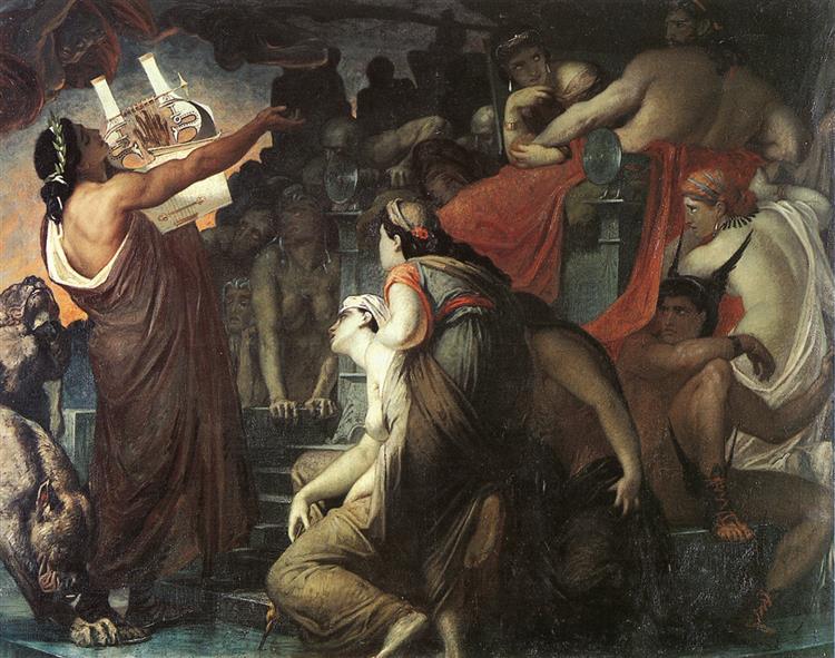 Henri Regnault, Orphée Aux Enfers, 1865 - Henri Regnault