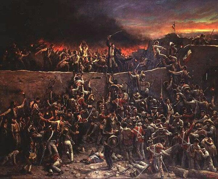 Soldiers at the Alamo - Henry Arthur McArdle