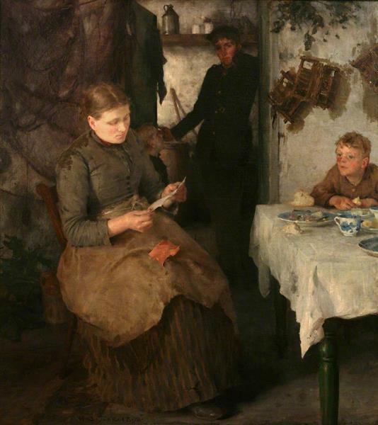 The Message, 1890 - Henry Scott Tuke