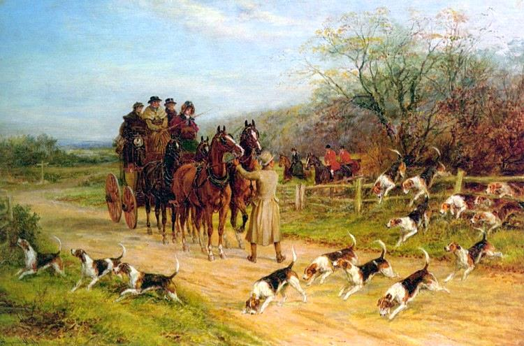 Hound First, Gentlemen - Heywood Hardy