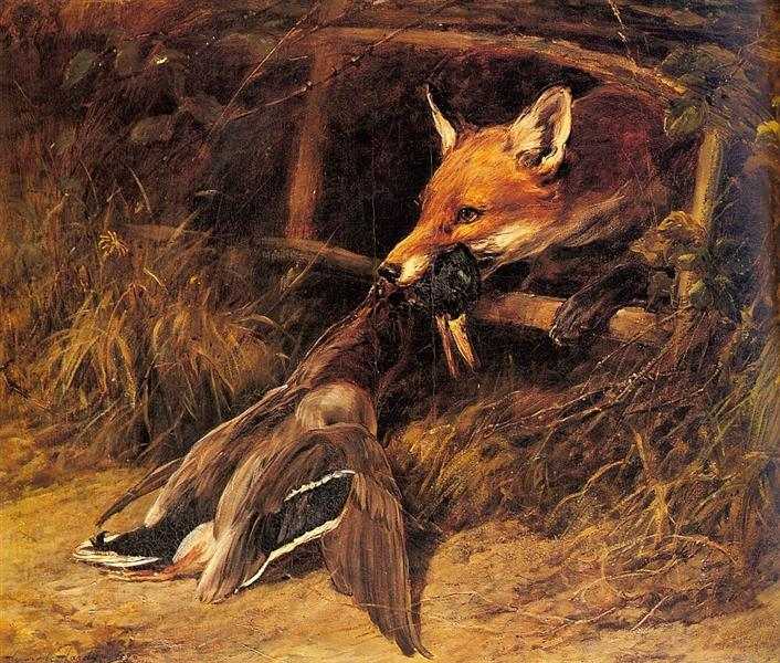 Returning to the Foxs Lair, 1896 - Heywood Hardy