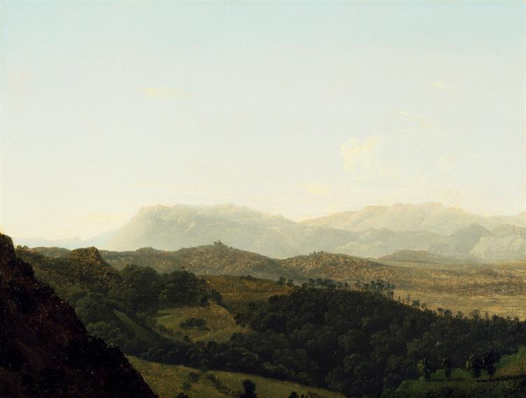 The Sabine Mountains - Jean-Joseph-Xavier Bidauld