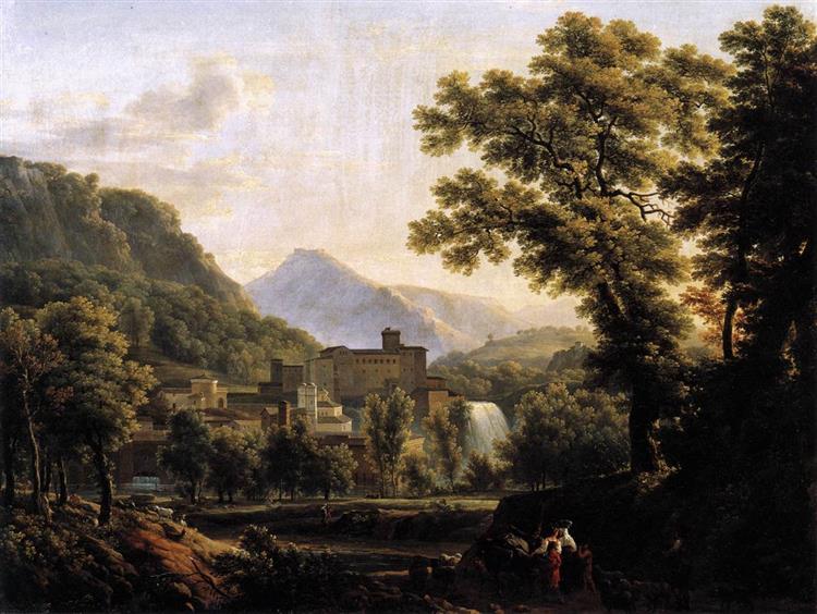 View of the Isle of Sora - Jean-Joseph-Xavier Bidauld