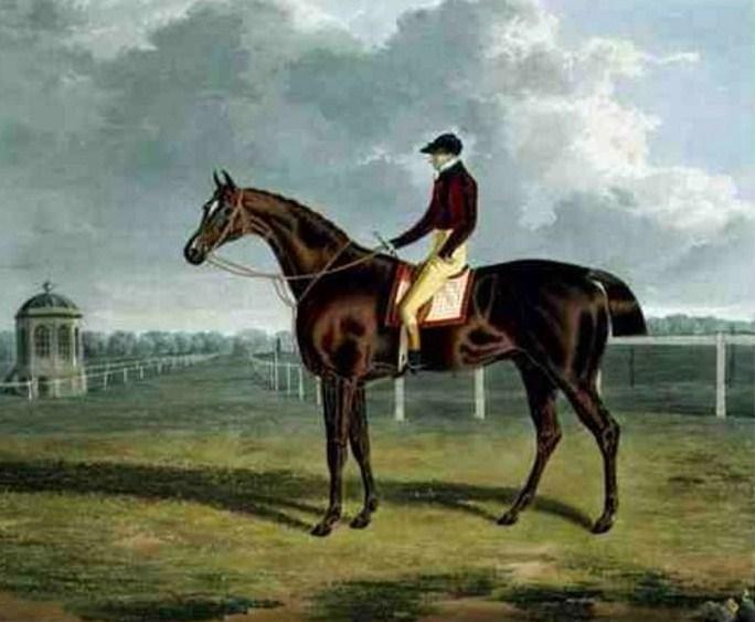 British Racehorse St Patrick, c.1820 - John Frederick Herring Sr.