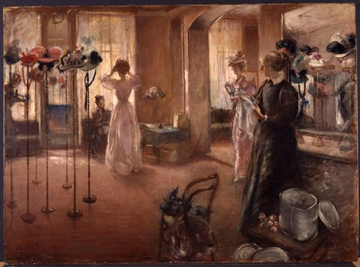The Hat Shop - Henry Tonks
