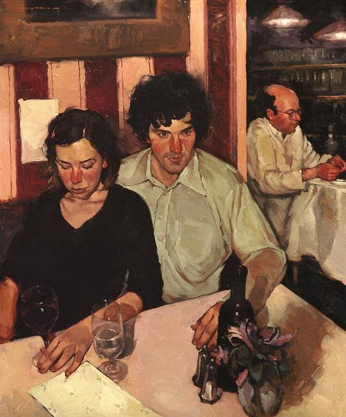 Cafe Couple - Joseph Lorusso