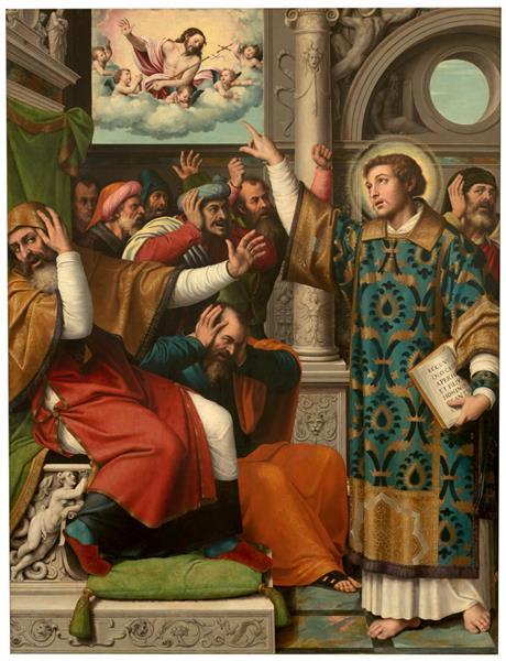 San Esteban Acusado De Blasfemo, 1555 - 1562 - Vicente Juan Masip