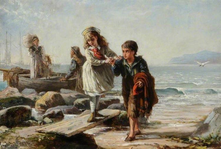 A Morning Sail, 1870 - Laslett John Pott