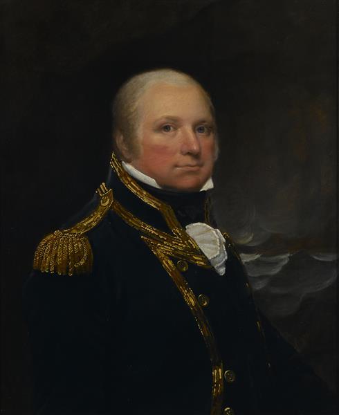 Captain John Cooke - Lemuel Francis Abbott