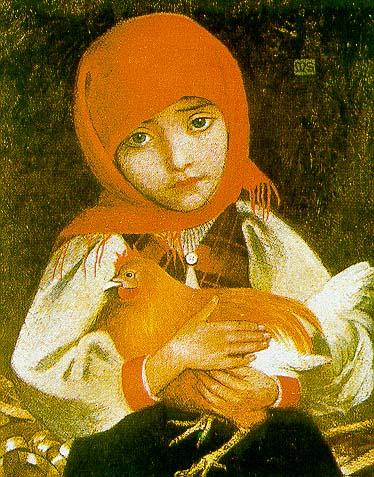 Slovak Girl, 1905 - Marianne Stokes