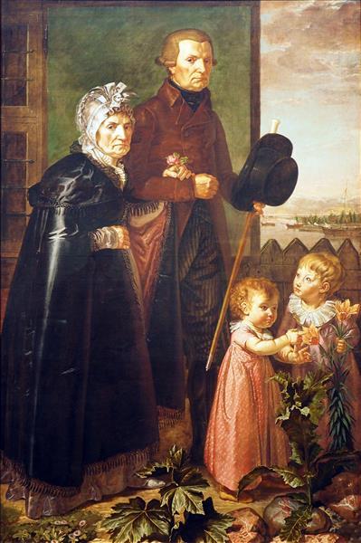Portrait of the Artist's Parents - Philipp Otto Runge