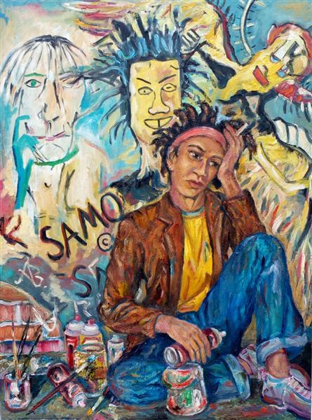 Jean Michel Basquiat, 2015 - Andrey Allakhverdov