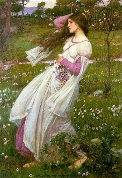 Windflowers, 1902 - John William Waterhouse